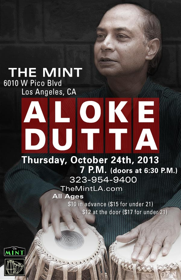 Aloke Dutta Performing in Los Angeles